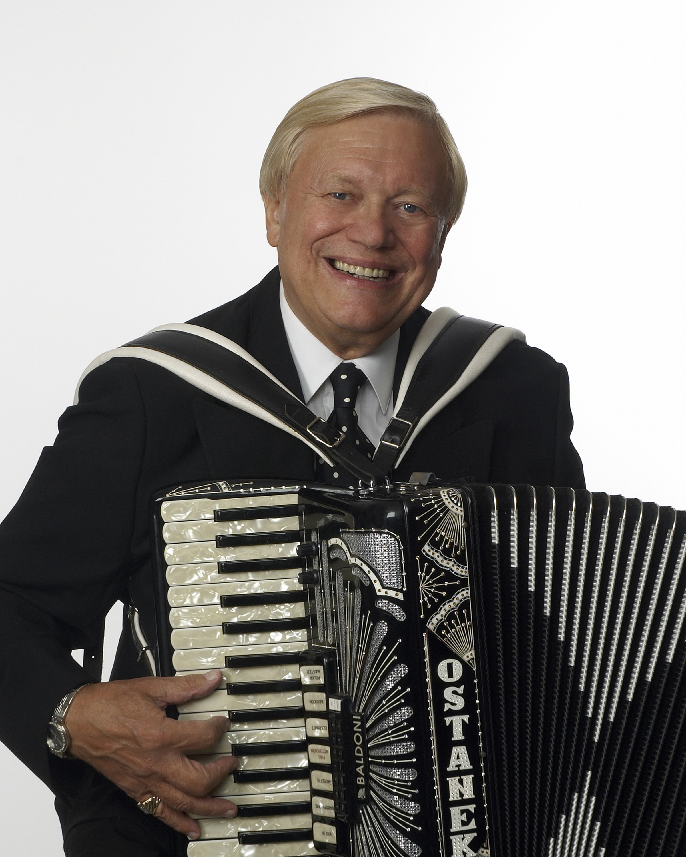 Walter Ostanek Standing Accordion