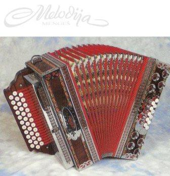 Melodija Slovenka 3/III M92 Button Accordion