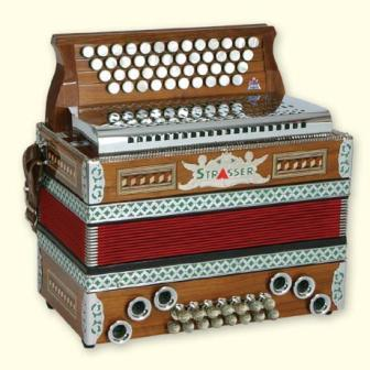 Strasser Standard Button Accordion