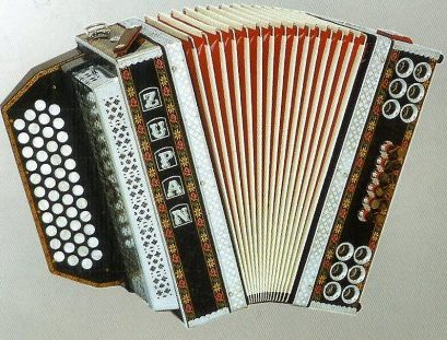 Zupan Alpe IVD Club shwarz Button Accordion